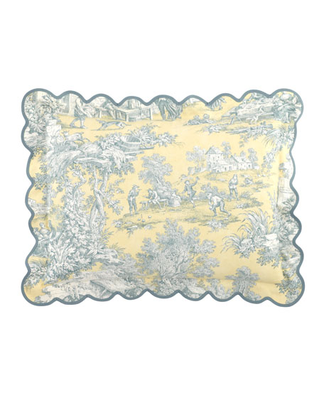 King Lutece Cypress Toile Sham