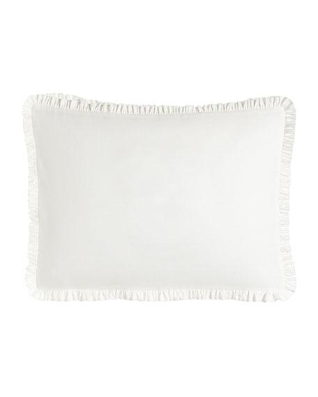 Each Essex Standard Plain White Box Sham