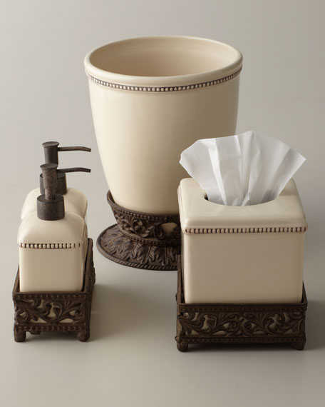 Ceramic Wastebasket