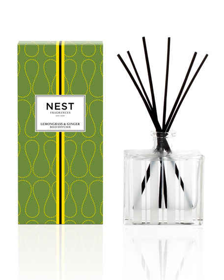 Lemongrass & Ginger Reed Diffuser, 5.9 oz./ 175 mL