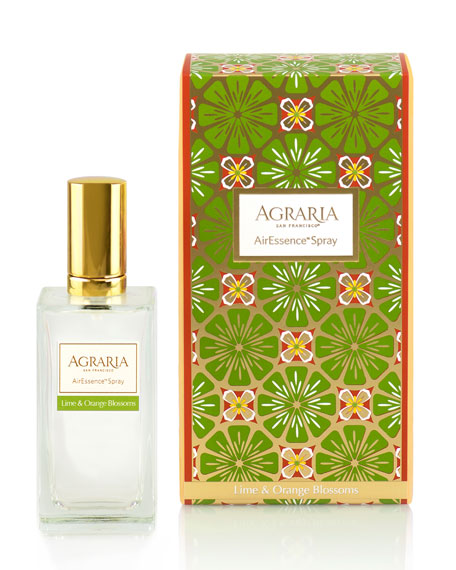 Agraria Lime & Orange Blossoms AirEssence Spray, 3.4