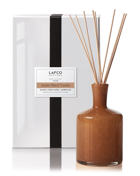 Amber Black Vanilla Reed Diffuser – Foyer, 15 oz./ 444 mL