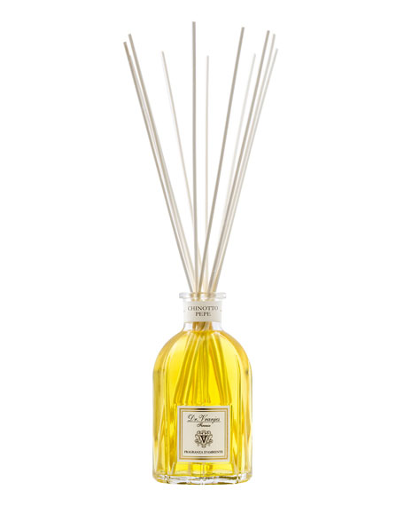 Chinotto Pepe Glass Bottle Home Fragrance, 8.5 oz./ 250 mL