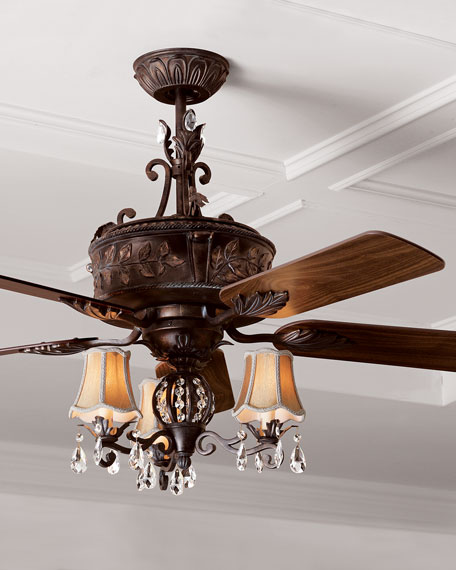 Antoinette Ceiling Fan Amp Light Kit
