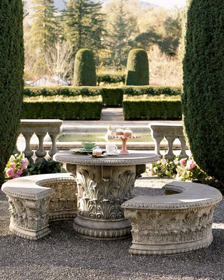 Awesome Roman Garden Table Ocoug Best Dining Table And Chair Ideas Images Ocougorg