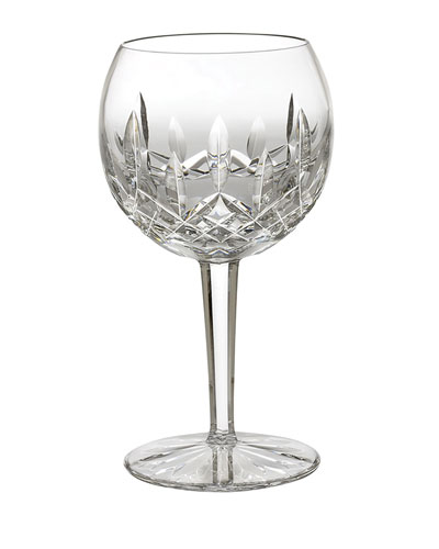 Lismore Crystal Wine Glass, Oversized