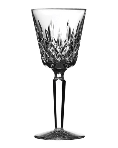 Lismore Tall Crystal Claret Wine Glass