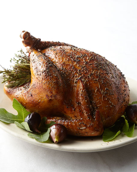Herb-Roasted Turkey, For 10-12 People
