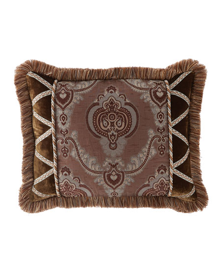 Each Brompton Court Passementerie Standard Medallion-Center Sham