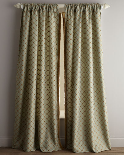 Each 96L Petit Trianon Trellis Curtain