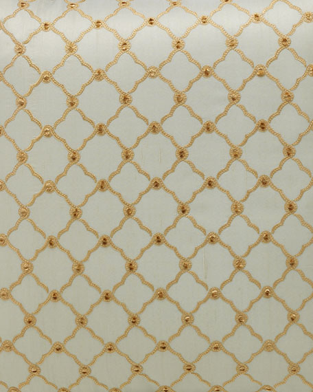 "Petit Trianon Trellis Fabric, 3 yards x 54""W"