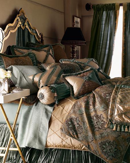 Queen Villa di Como Brocade Duvet Cover