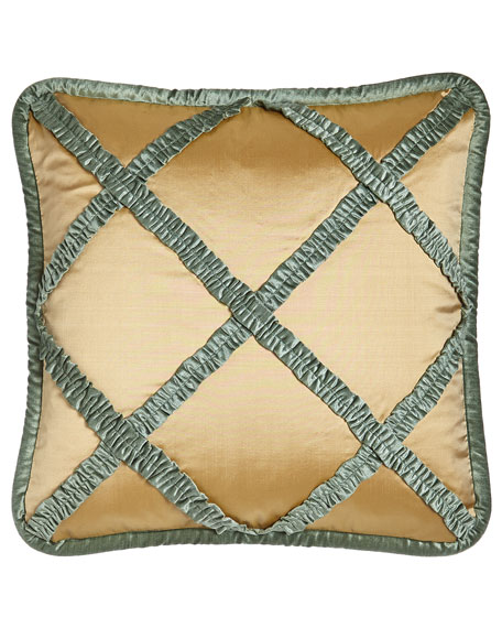 Villa di Como Lattice Pillow