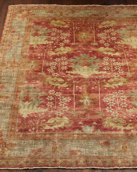 9x12 Rugs Oushak Amp Flower Market Rugs At Neiman Marcus