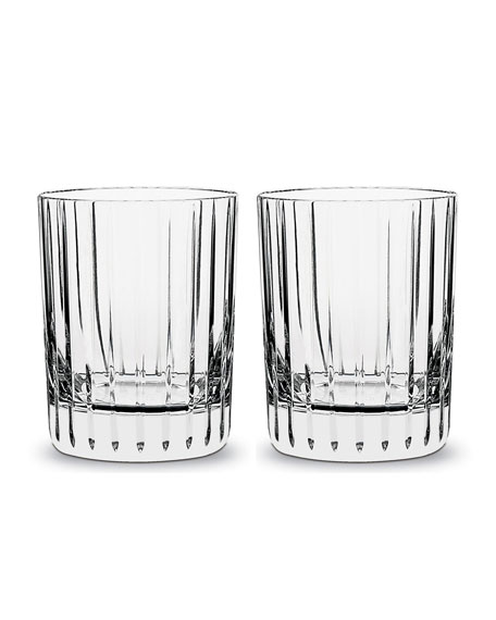 Baccarat Harmonie Double Old Fashion Tumblers, 12 Ounces