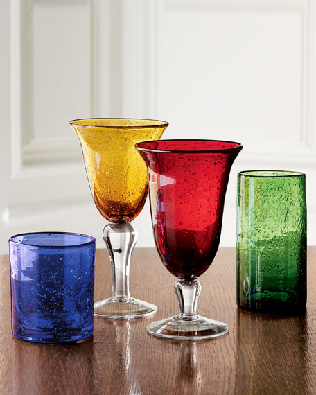 Iris Iced-Tea Glasses, Set of 4