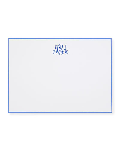 25 Cards/Personalized Envelopes