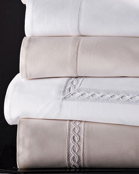 King Lace Sateen Duvet Cover
