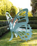 Small Butterfly Bench