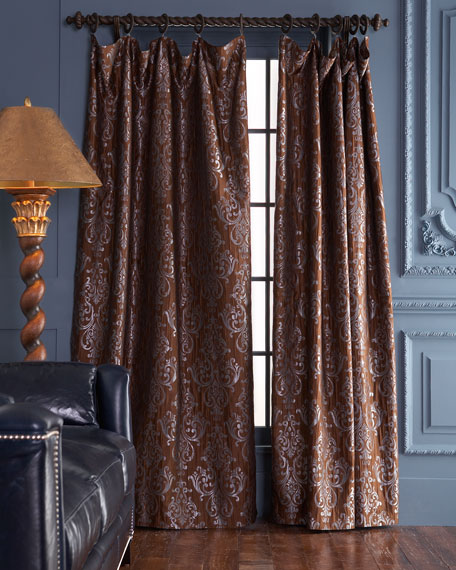 "Each Castella Curtain, 108""L"
