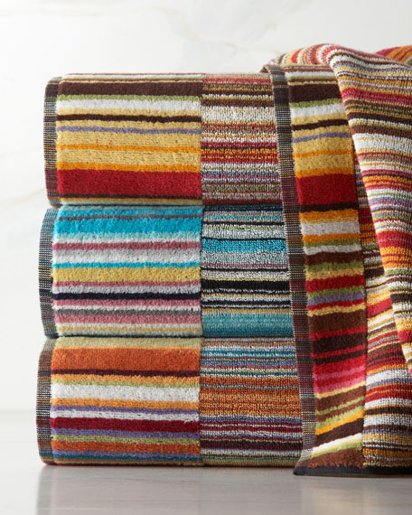 Missoni Stan Hand Towel: Missoni Home Jazz Bath Towels