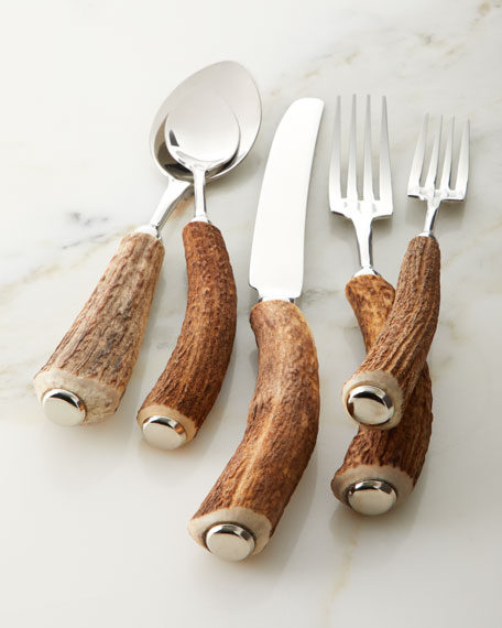 5-Piece Stag Horn Place Setting