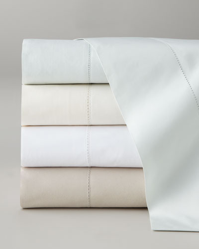 Queen Classic Hemsti Thread Counth 400 Thread-Count Sheet Set