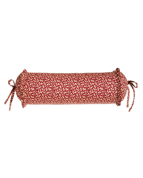 French Country Neck Roll Pillow, 18
