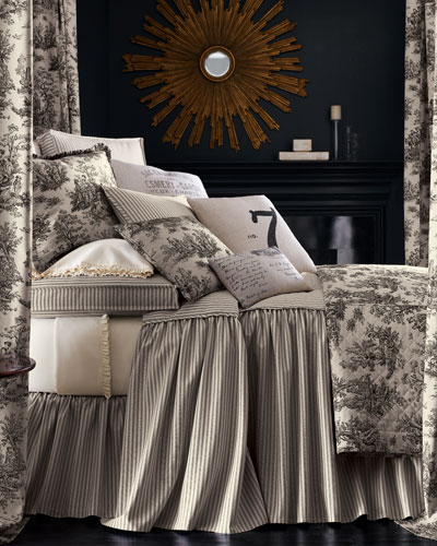 Twin Sydney Toile Coverlet