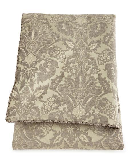 Queen Penthouse Suite Damask Duvet Cover