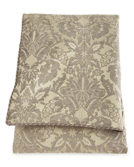 King Penthouse Suite Damask Duvet Cover