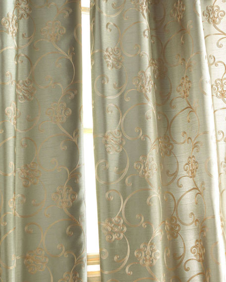 "Each Paris Curtain, 55""W x 120""L"
