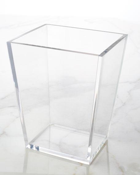 Solid Ice Wastebasket