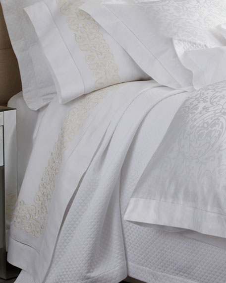 Two Finley Embroidered Standard 300TC Pillowcases