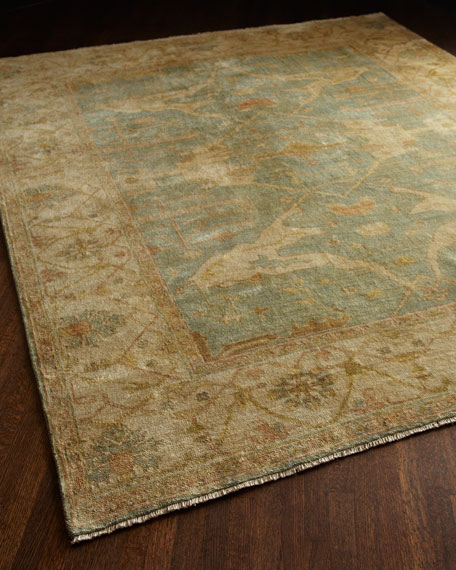 Exquisite Rugs Oceanside Oushak Rug, 8' x 10'