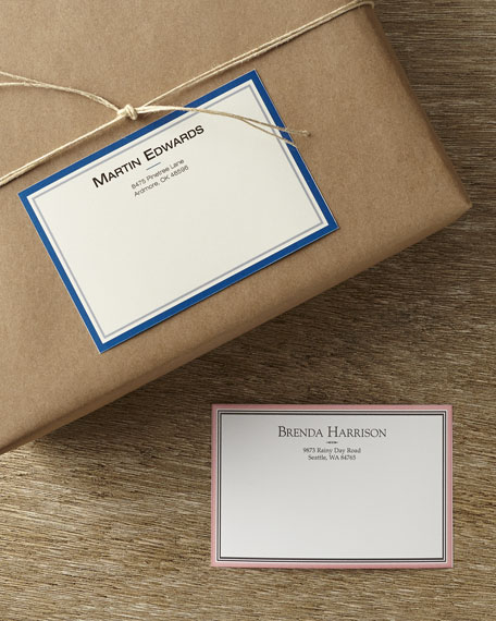 50 Personalized Mailing Labels