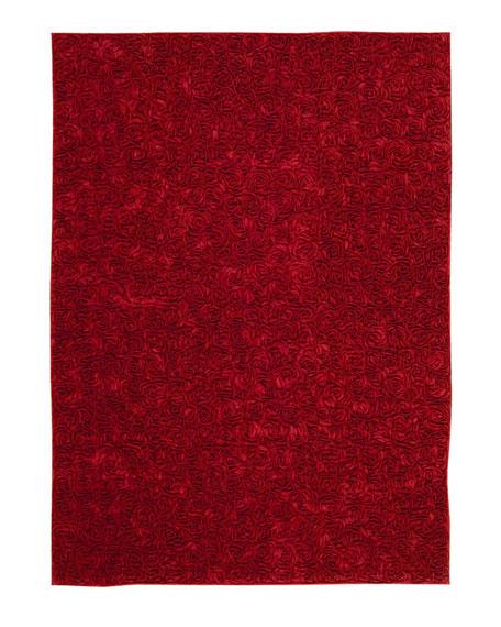 Vivian Roses Rug, 4' x 6'