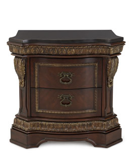 Bianchi Two-Drawer Nightstand