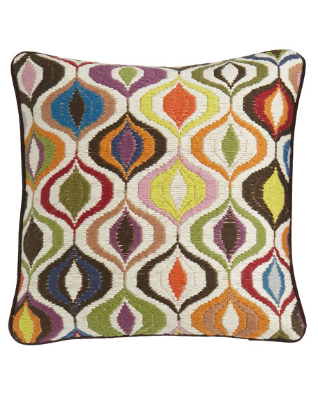 Bargello Waves Pillow
