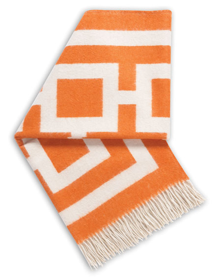 Orange Nixon Throw