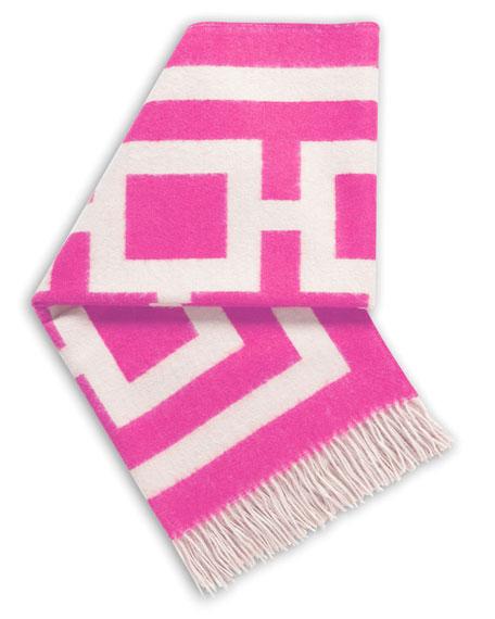 Pink Nixon Throw