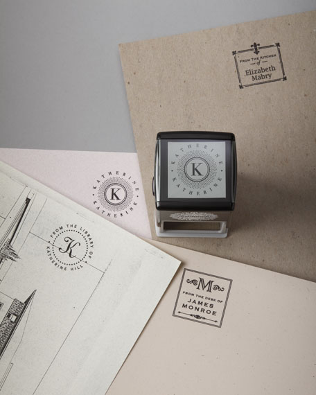 Name & Initial Stamp