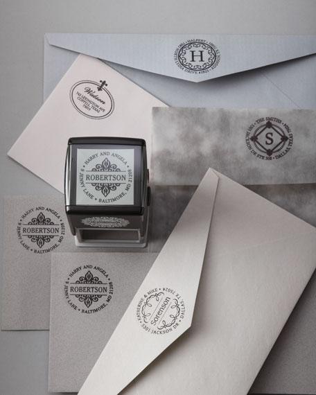 Emblem Address Stamp