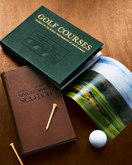 Golf Courses, Leather-Bound Collector's Edition