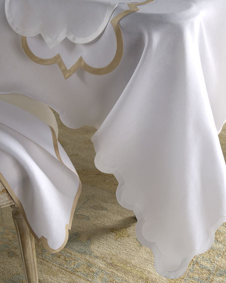 "Mirasol Oblong Tablecloth, 70"" x 126"""