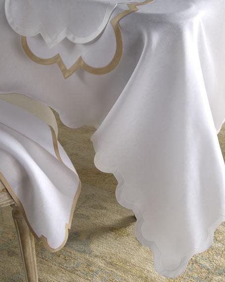 "Mirasol Oblong Tablecloth, 70"" x 144"""