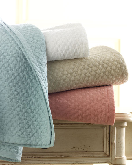Twin Houndstooth Quilt Set