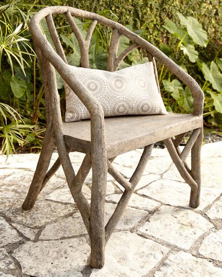 Captivating Artemis Faux Bois Chair