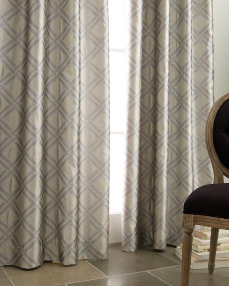 """Each 96""""L Grid Curtain"""