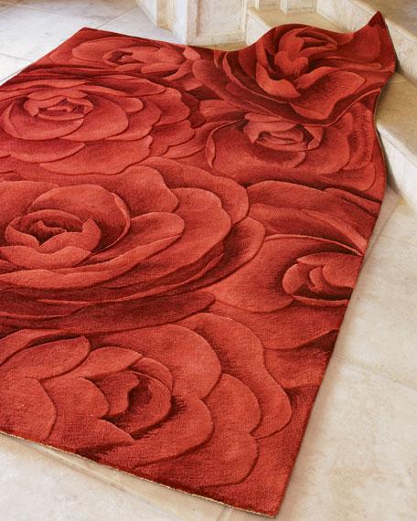 Isla Rich Roses Rug